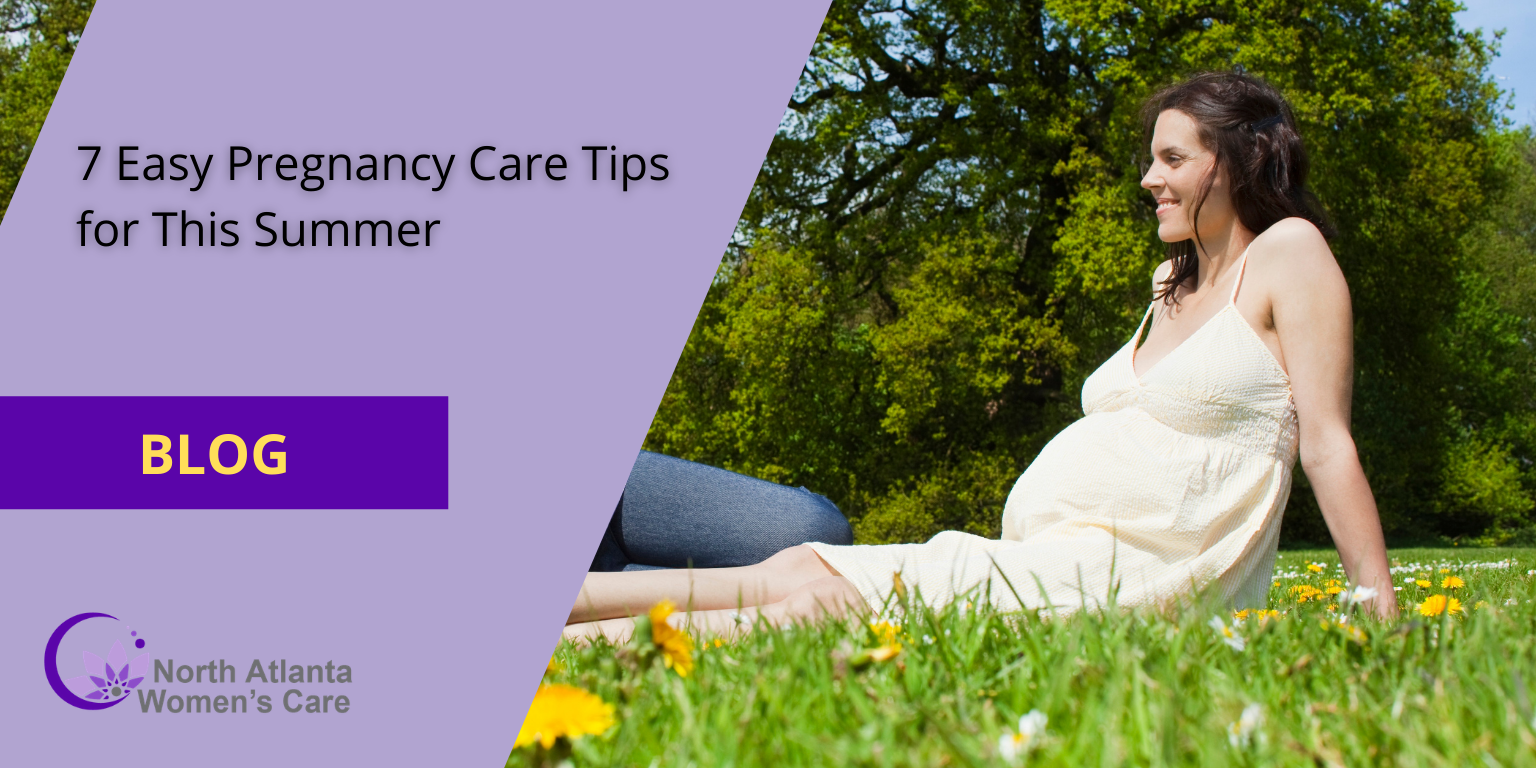 7 Easy Pregnancy Care Tips for This Summer